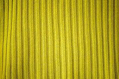 Yellow wool Stock Image