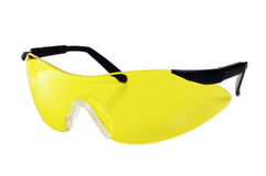 Yellow working goggles Royalty Free Stock Image