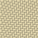 A yellow woven wicker materia Royalty Free Stock Photo