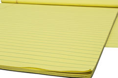 Yellow writing Block 2 Stock Image