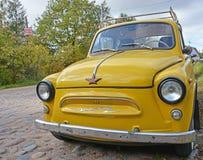 Yellow ZAZ-965 Zaporozhets Stock Image