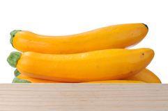 Yellow zucchini Royalty Free Stock Image