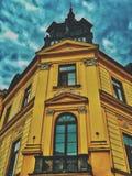Yellowblue fotografía de archivo