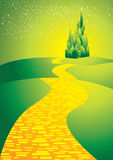 Yellowbrickroad Royalty Free Stock Photography