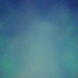 Yellowed błękitny tło z rocznik teksturą Obraz Royalty Free