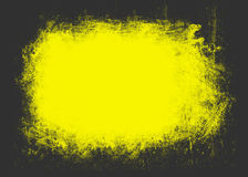 Yellowed grunge background Stock Images