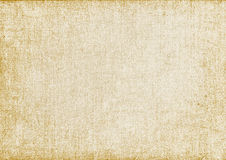 Yellowed old canvas.vector illustration Royalty Free Stock Images
