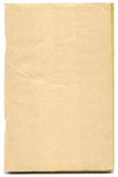 Yellowed pages of antique book Royalty Free Stock Image