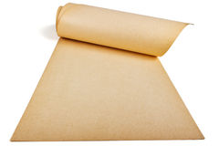 Yellowed paper Royalty Free Stock Image