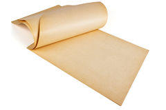 Yellowed paper Stock Photography
