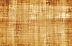 Yellowed parchment paper texture Stock Images