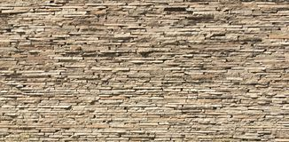Yellowed stone wall Royalty Free Stock Image
