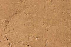 Yellowed wall background Stock Photos