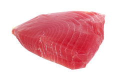 Yellowfin tuna steak Royalty Free Stock Images