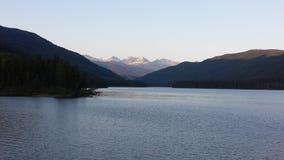 Yellowhead湖 库存图片