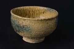 Yellowish Chinaware Bowl Stock Photo