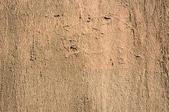 Yellowish weathered wall close. Up Stock Photo