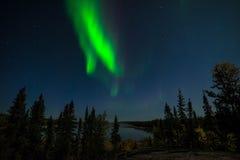 Yellowknife Aurora Borealis 3 Fotografering för Bildbyråer