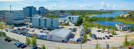 Yellowknife, Kanada Stockbild