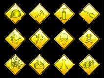 YellowSign Lizenzfreies Stockbild
