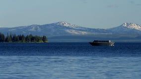 Yellowstone湖,黄石国家公园 免版税库存照片
