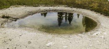 Yellowstone öga Arkivfoton