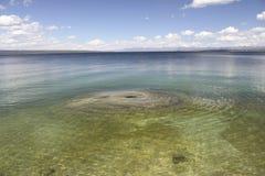 yellowstone λιμνών Στοκ Φωτογραφίες
