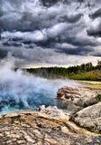 Θύελλα Yellowstone Στοκ φωτογραφίες με δικαίωμα ελεύθερης χρήσης