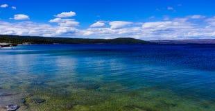 黄石公园Yellowstone湖  库存图片