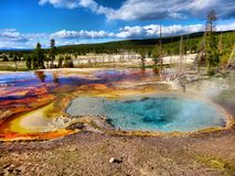Yellowstone Stock Afbeeldingen
