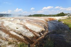 yellowstone Royaltyfri Fotografi