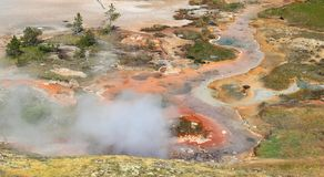 yellowstone Images libres de droits