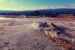 yellowstone Royalty-vrije Stock Foto's