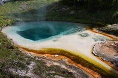 Yellowstone. West Thumb Geyser Basin, Yellowstone National Park Royalty Free Stock Photography