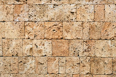 Yellowstone bricks Royalty Free Stock Photos