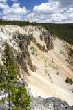 Yellowstone cai no parque nacional de Yellowstone foto de stock royalty free