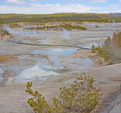 Yellowstone Caldera Royalty Free Stock Photos