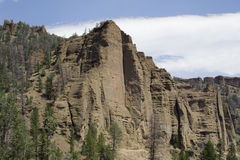 Yellowstone Cliffs Stock Images