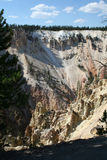 Yellowstone Cliffs Royalty Free Stock Photos