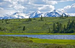 Yellowstone du nord Photographie stock