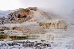 Yellowstone en invierno imagen de archivo libre de regalías