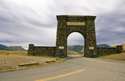Yellowstone entrance Royalty Free Stock Photography