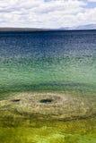 Yellowstone för havsvatten nationalpark Fotografering för Bildbyråer