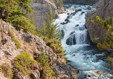 Yellowstone Firehole River Stock Photo