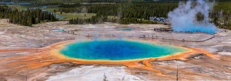 Yellowstone fjädrar storslagna Prismatic Fotografering för Bildbyråer