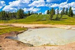 Yellowstone góra w cieniu zdjęcie royalty free