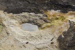 Yellowstone geotermisk pöl Royaltyfri Bild