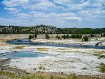 Yellowstone Geyser Basin Stock Photos