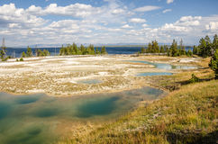 Yellowstone Geyser Basin Royalty Free Stock Image