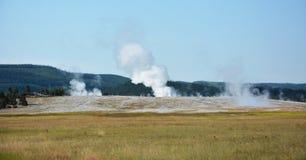 Yellowstone- the geyser land Stock Photo